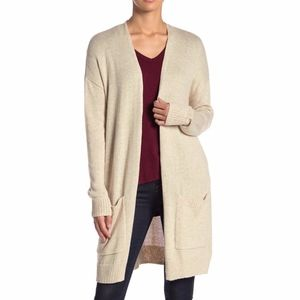 Abound | NWT BEIGE Long Knit Cardigan Long Sleeve